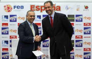 Presentación de Juan Antonio Orenga como nuevo seleccionador de baloncesto