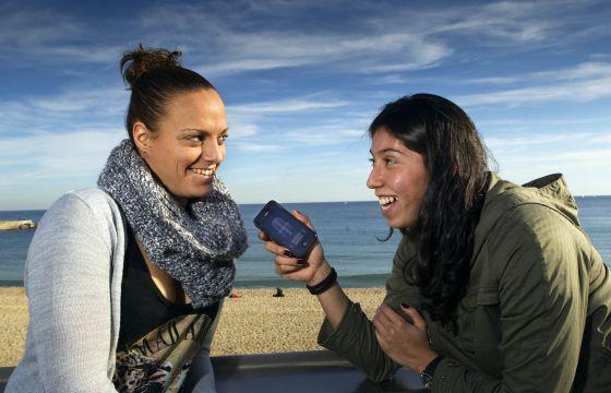 Jennifer Pareja, entrevistada por su compañera Mati Ortíz.
