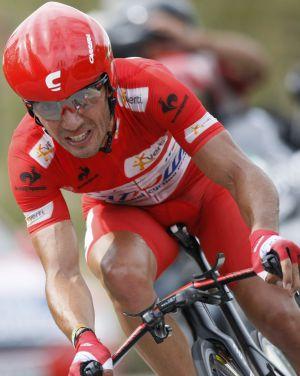 Purito, durante la última Vuelta a España