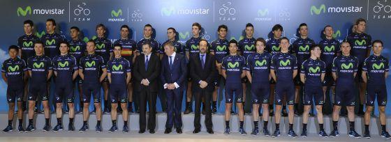 El equipo Movistar.