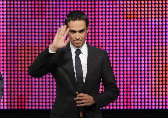 Contador, en la presentación de la vuelta 2013