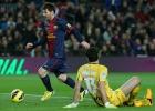 Messi se pone las botas