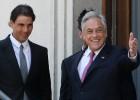 Nadal, recibido por Piñera, el presidente de Chile