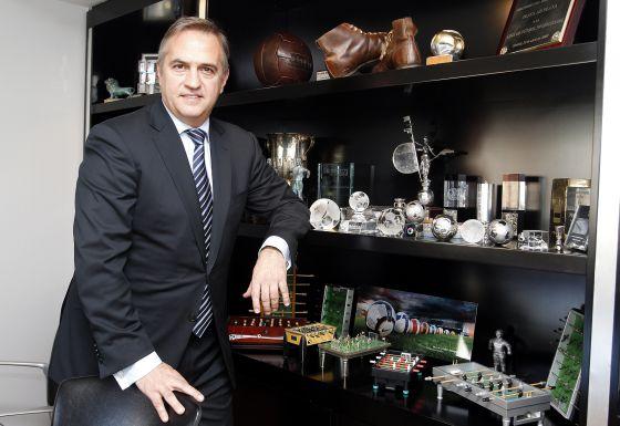 José Luis Astiazarán, presidente de la Liga de Fútbol Profesional.