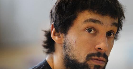 Sergio Llull durante la entrevista.