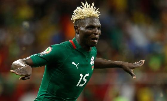 Bance celebra su gol ante Ghana.