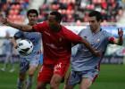 Geromel salva el debut de Manzano