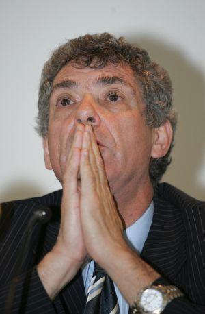 Ángel María Villar, en una asamblea de la FEF en 2008
