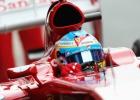 Fernando Alonso día 1