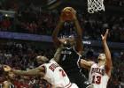 Los Nets sobreviven a los Bulls