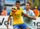 Brasil gana pero no convence