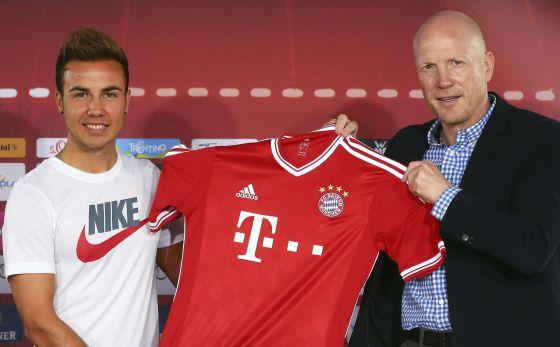 El Bayern de Guardiola presenta a Mario Götze, su nueva estrella
