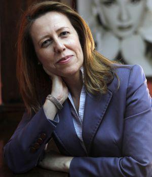 Ana Muñoz Merino, en una entrevista en Mayo