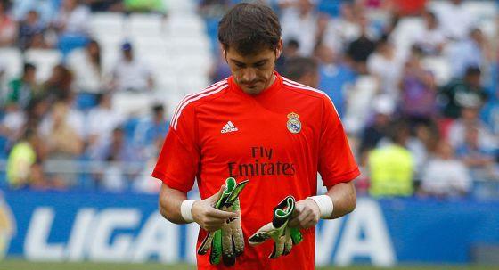 Iker Casillas, antes del encuentro del domingo frente al Betis.