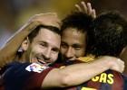 Messi acelera cuando quiere
