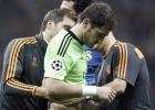 Casillas solo sufre una contusión