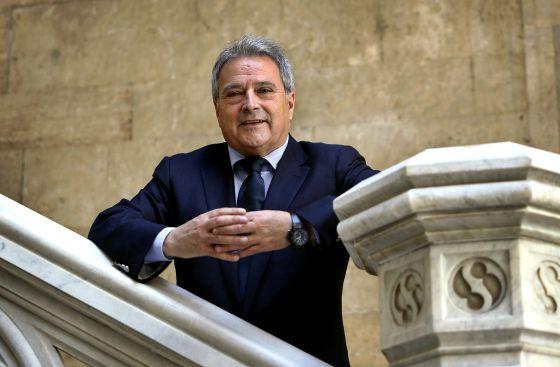 El presidente de la Diputación de Valencia, y del PP provincial de Valencia, Alfonso Rus.