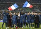 Francia triunfa con el corazón