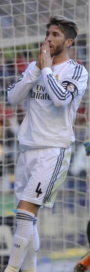Sergio Ramos atormentado