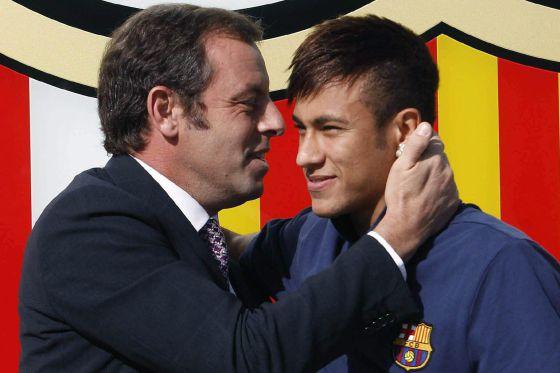El Barça entrega los contratos de Neymar a la Audiencia