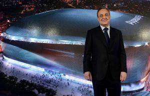 Florentino Pérez, presidente del Real Madrid, ante el nuevo proyecto.