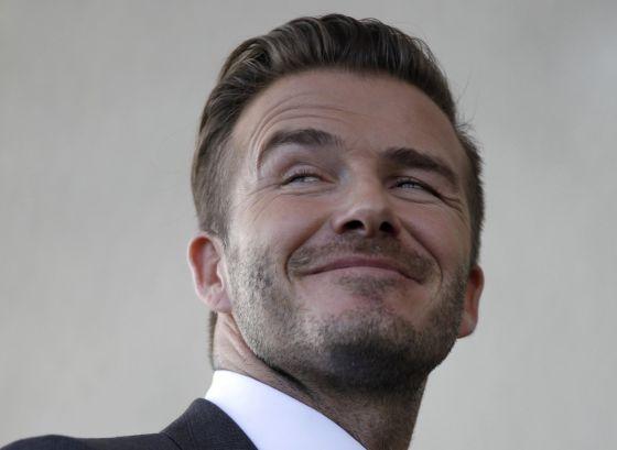David Beckham, nesta quarta-feira em Miami.