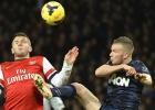 El empate entre el Arsenal y el United deja como líder al Chelsea