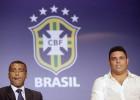 Brasil enfrenta a Romario y Ronaldo