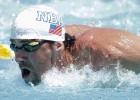 El anfibio Phelps vuelve al agua