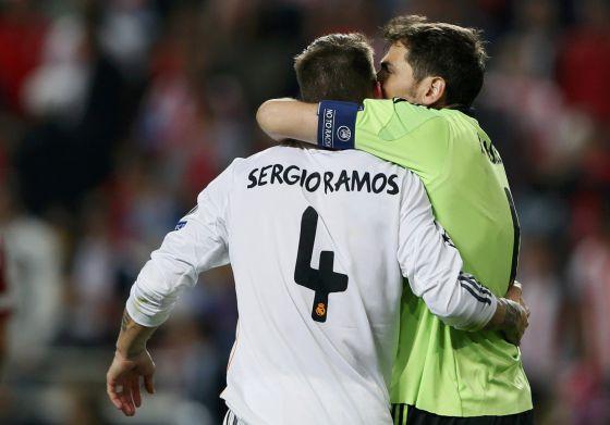 Ramos salvó a Casillas