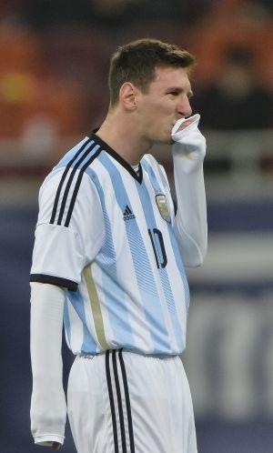 La desazón de Messi