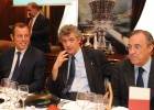 Villar, Florentino y Rosell sellaron una alianza con Qatar en 2009