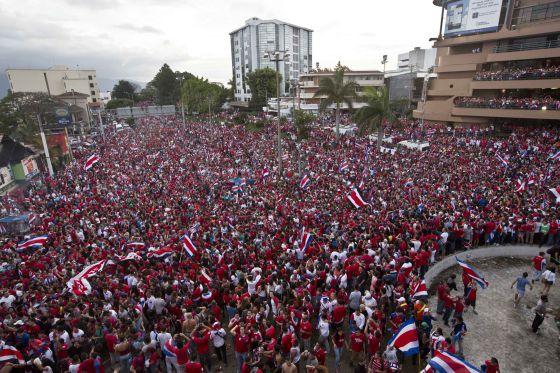El domingo más feliz de Costa Rica