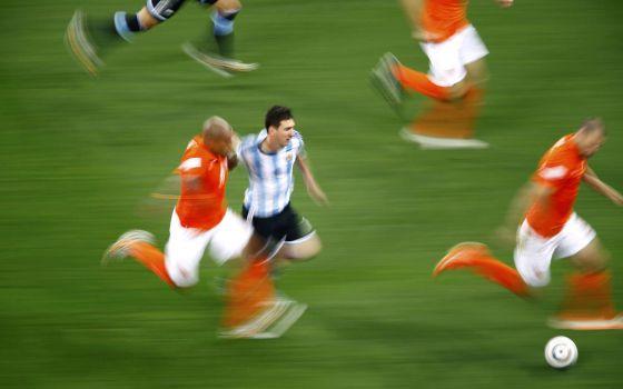 Messi, el miércoles en el partido contra Holanda. Un amplio análisis estadístico en EE UU explica por qué es el mejor futbolista del mundo.