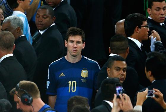 Messi, Balón de Oro sin brillo