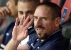 Ribéry se despide de los 'bleus'