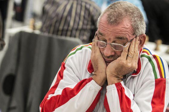El ajedrecista Kurt Meier.