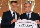Chicharito firma por el Madrid; Falcao, al Manchester United