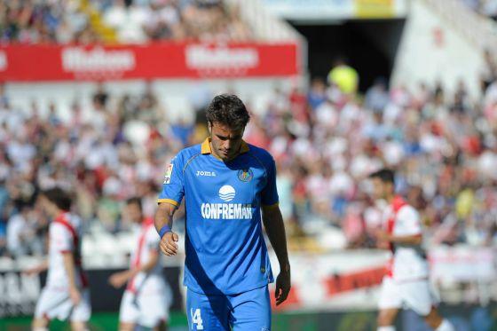 Pedro Leon, en el último partido de la pasada temporada.