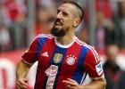 Ribéry reaparece en el Bayern