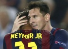Messi y Neymar calientan para Madrid