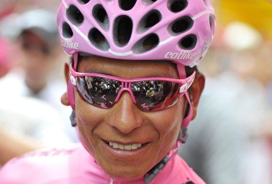 Nairo Quintana en el último Giro.
