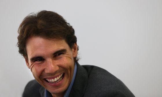 Rafael Nadal, durante la entrevista.