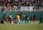 Tongo en el encuentro entre Costa de Marfil y Camerún