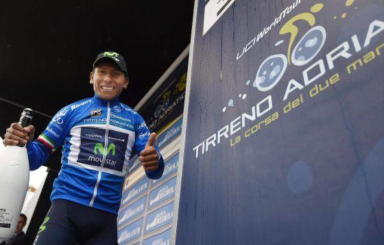 El colombiano Nairo Quintana gana la Tirreno-Adriático