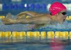 Mireia Belmonte practica natación de alta montaña en Sierra Nevada