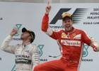 Sebastian Vettel logra la primera victoria para Ferrari en dos años