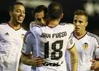 El Valencia gana el derbi de cabeza
