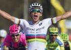 El campeón del mundo derrota a Valverde en la Amstel Gold Race
