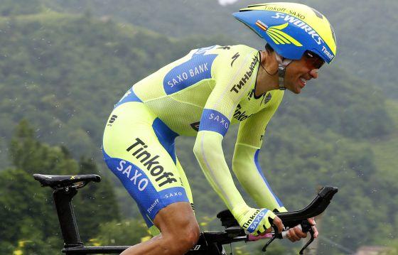 Contador en el Giro de Italia 2015
